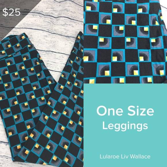 c57bb1f363d3a5 LuLaRoe Pants | Cube Os Leggings Weekend Sale | Poshmark
